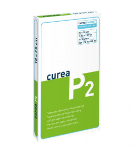 Curea P2 SuperCore wondverband 10 x 20 cm steriel 10St. -