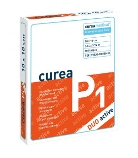 Curea P1 SuperCore wondverband Duo active 10 x 10 cm steriel