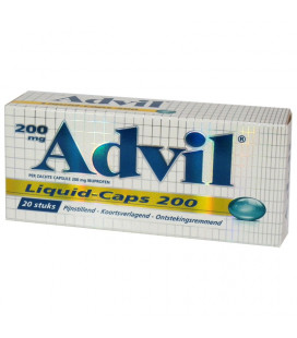 Advil liquid caps 200mg 20 tab - www.ehbo-centrum.nl